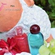 pdp16-แชมพู-30ml-ขวดสีแดงทรงกระบอกเตี้ยเจลอาบน้ำ-ขวดสีฟ้าทรงหัวใจ-สีแดง2