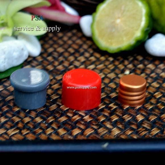 pdp068-ฝาเห็ดสีเทา,ฝาทองแดงและฝาทรงกระบอกสีแดง